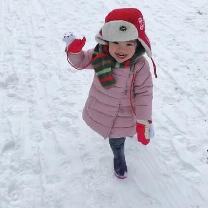 到了法国最冷滴地方,手脚冰冷脸都要冻啦😢小孩🈶️玩儿的啥都好😜#海外生活##法国混血小草莓##过年#