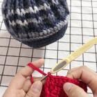 贝雷帽教程-5#手工##贝雷帽编织##我要上热门#