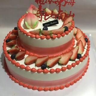 #美食##蛋糕##甜品#恭祝老人增富增寿增富贵,添光添彩添吉祥,福如东海,寿比南山!