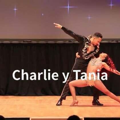 #油管搬运工#Taniya canessar and Charlie Chania 2018 show salsa #杭州fiesta##杭州salsa#