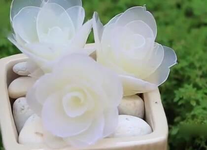 """教你4种做""""花""""的方法,都很精致很漂亮#手工##生活小技能#"""