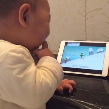 #搞笑宝宝##我要上热门@美拍小助手##可爱宝宝#有被笑声传染了给个赞!