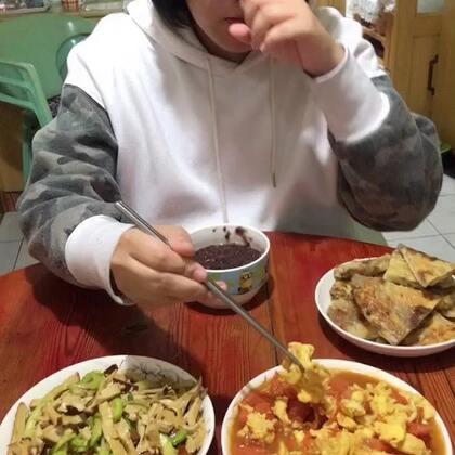#吃秀##潇岩的早餐#早上好!开学快乐😄