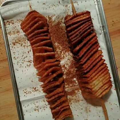 #美食#黄金薯塔