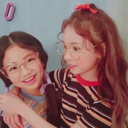 #KP童星家族#@罗夏恩Haeun &朴孝济