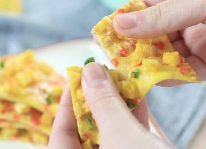 5块钱不到,但比披萨好吃十倍,宝宝再挑食也经不起这诱惑!(11个月以上)@宝宝频道官方账号#自制宝宝辅食##辅食##美食#