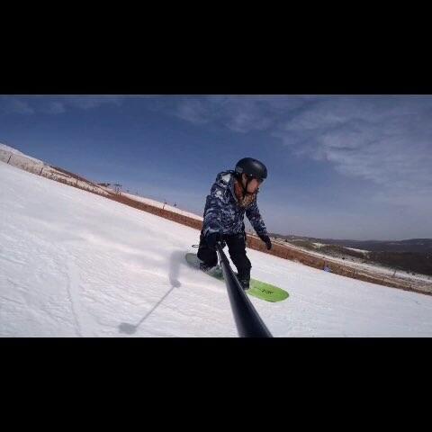【翔宇⊙Tristan美拍】我的滑雪视频,崇礼云顶滑雪场#...