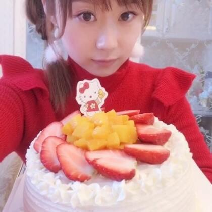 #吃秀##直播吃奶油蛋糕##吃奶油蛋糕#想吃蛋糕就做了一个😊❤️❤️❤️