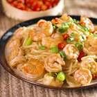 我做虾面给你吃呀!#魔力美食##吃货##虾面#