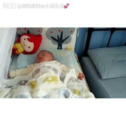 #宝宝##小灏儿#4M,阳光大好,出门晒娃,午睡香香,么么哒👄