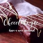 为了满足我的巧克力欲望,做了这个超大的巧克力派,中间夹的奶酪酱也超级好次,减肥什么的不存在的,先过瘾再说#美食##开学营养餐#