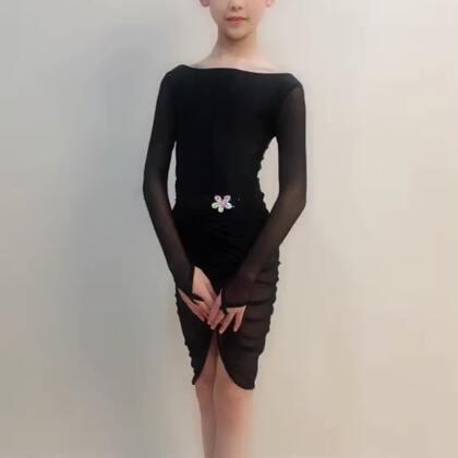 @💃应苏梦💃 #穿秀#拉丁舞服#歌曲《佛系少女》,@薇妮舞服💃💃豌豆精制美衣😘😘😘@苏梦Aana