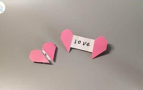 【香香手工美拍】教你快速折一封爱心书信,快把你...
