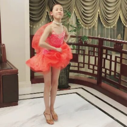 @💃应苏梦💃 #舞蹈#拉丁舞#牛仔#@苏梦Aana 这几天上瘾了,跳有点多,累的腿脚踢都没力气了😅😅