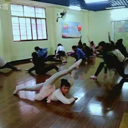 新舞第一节课,#舞蹈#,十级考级,加油(^ω^)#宝宝##张佳琦#
