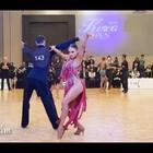 颜值爆表的Filippo&Daria😍,舞蹈里尽是满满的精致细节🎶❤#舞蹈##拉丁舞##热门#