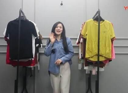 3月12日杭州越袖服饰(小衫、T恤系列)多份 50件 620元 微信:18173981669