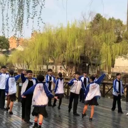 校园一角来一段~#舞蹈##拉丁舞#