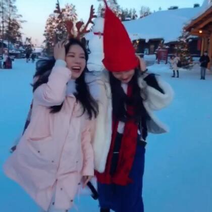 二月美少女们的芬兰极光美宿北极圈之旅#芬兰##旅行##极光#