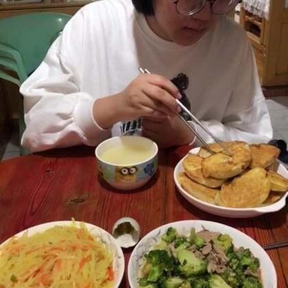 #吃秀##潇岩的早餐#早上好!