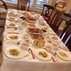 今晚有口福了……土耳其风味+中餐😍😍😍#美食#