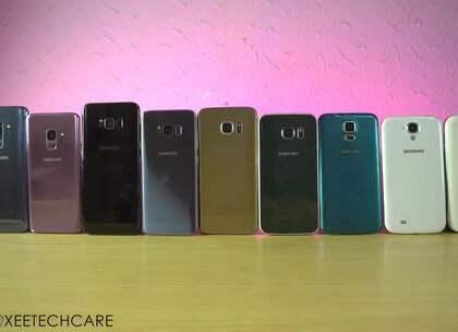 从最早的i9000开始到最新推出的S9系列,Galaxy系列的外观设计风格没有发生太过激进的改变,但每一代产品在性能上的提升还是非常明显的。