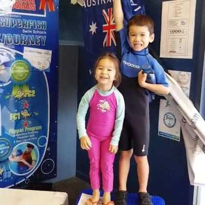 在游泳学校 #宝宝#