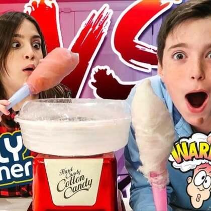 #热门#我们新入手了一台棉花糖机,可以做各种口味的棉花糖,你们最喜欢什么口味呢?#搞笑#