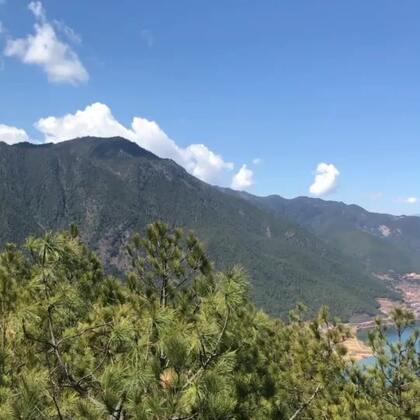 #旅游#今天我们在泸沽湖的大落水,明天去里格半岛,喜欢安静,喜欢看风景的可以去玩😁@美拍小助手