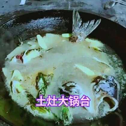 #吃秀##土灶大锅台##美食#@美拍小助手 这两天辣妈非常忙,跟你们发个库存!这是糖果妈带我去吃的土灶大锅台,鱼🐠很新鲜都是现做的!😁😁😁