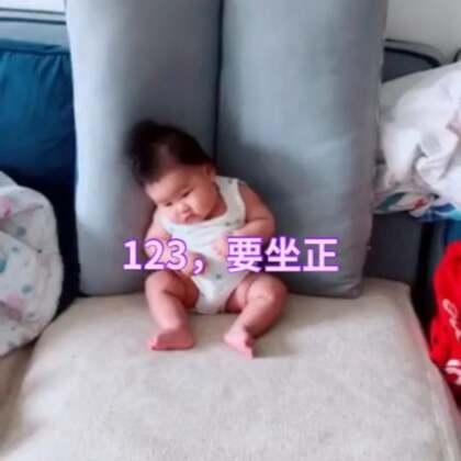 #宝宝#妈妈说让我好好坐在那,不料,瞌睡就像龙卷风说来就来了。各位漂亮阿姨们喜欢我的萌姿吗?记得送上你们的小心心~另外,你们家宝宝如果有超萌瞬间,也可以留言出来大家一起交流(本视频来自社群征集)
