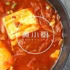 泡菜控们一定不要错过这道辣白菜牛肉豆腐汤,泡着米饭吃更香!#美食#