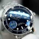 MK出品欧米茄经典海马300M 41MM直径 蓝宝石镜面镀膜 316L精钢 打磨精细 2824-2自动机械机芯
