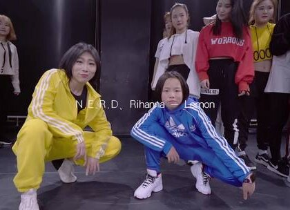 🎵Music:Lemon🔥我的编舞😘Dance withe amazing Mimio @JC舞蹈训练营 #舞蹈#
