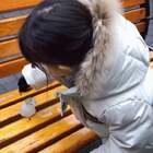 三月春雪❄️你好呀偶遇小雪人❄️#r熙39个月#+27 #宝宝#