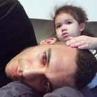 宝宝今天有点不舒服。舒服的呆在家里看LION KING 🦁️👑#宝宝#