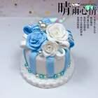 ✨用你们丰富的想象力给这个蛋糕取个名字吧!✨在评论下方告诉姐姐……#粘土蛋糕##超轻粘土##手工#