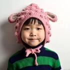 #手工##宝宝##钩针编织帽子#绵羊帽😊