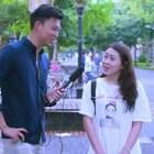 台湾美女最喜欢在哪里被男生搭讪?单身狗速围观!#神街访##美女##中国台湾#