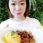 今日的日常,先从吃开始吧😊丝滑的蛋包饭!每天最幸福的时刻就是👉️吃!哈哈哈!!!#我要上热门@美拍小助手##吃秀##沈阳美食#
