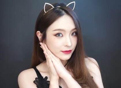 亚洲人完美hold住的🍉小猫妆[星星] 放大眼睛的独门诀窍!百分之八十风格的妆容都适用噢~ #美妆##水形物语##我要上热门# @美拍小助手