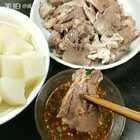 #美食##地方美食#每天也不知道吃啥子?煮了玉米,猪舌头,凉拌了折耳根,调了沾水,还吵了胡豆😁😁