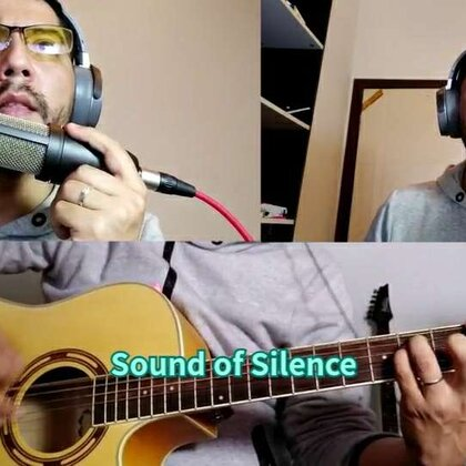 Sound of Silence cover. #音乐#