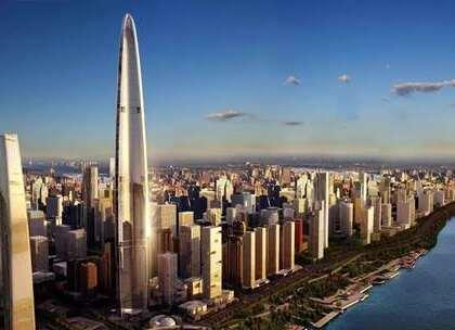 【在长江边上的它,将超过上海中心大厦,成为中国第一高楼】随着时代的进步,摩天大楼也像雨后春笋般的兴起,上海中心大厦目前是我国最高的摩天大楼,但是我国又有一座摩天大楼正在建设中了,那就是武汉绿地中心,并且是迪拜塔的设计团队设计的,相当具有大牌风范#旅行##武汉##上海#