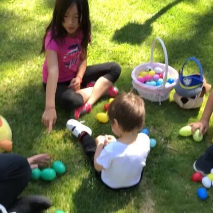 发奖啦!发奖啦!孩子好开心!#复活节彩蛋#