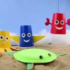 充满童趣的自制垂钓玩具,赶快给家里的小baby动手做一个吧,小长假开心的去河边玩耍👻👻#手工##机智日记##我要上热门#