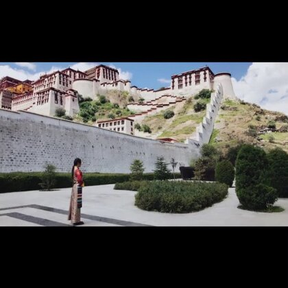 #i like 美拍##旅游##疯狂刷屏大赛#第二次去西藏的照片,西藏真的太美了~ 一定还会去第三次!