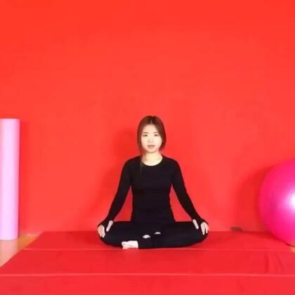 #运动#跃燃小课堂瑜伽🧘♀️分享之:简易坐姿侧身展#精选#