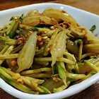 绿豆粉小鱼鱼,QQ滑滑,不能错过#美食#