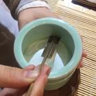 长安城的书法家在玩香道,古时这活却是书童做的。